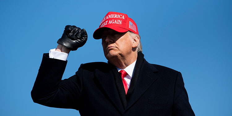 Trump estudia cómo seguir la pelea, buscar una salida digna