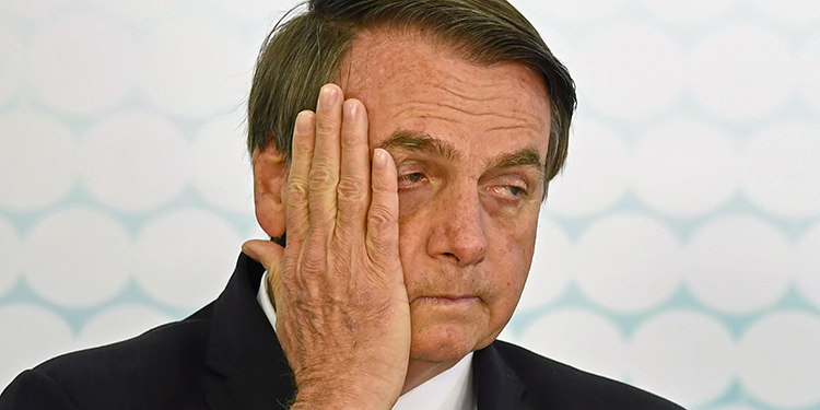 Bolsonaro anuncia que dio positivo al nuevo coronavirus