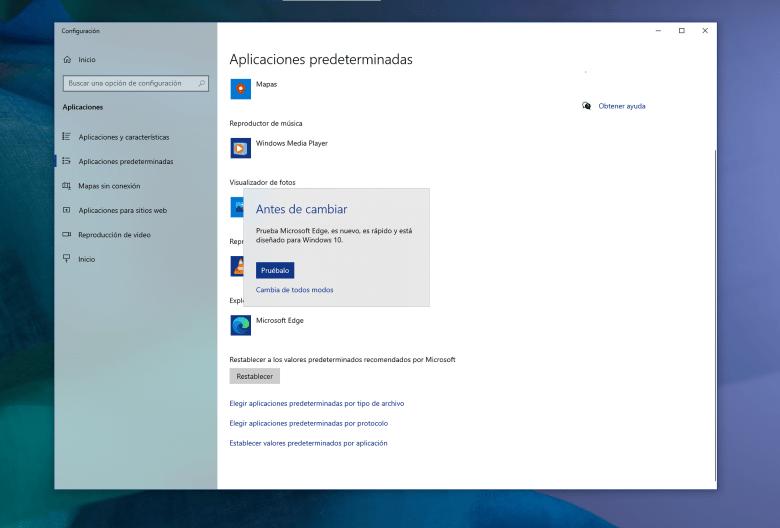 Ahora es más fácil cambiar a Firefox por defecto en Windows