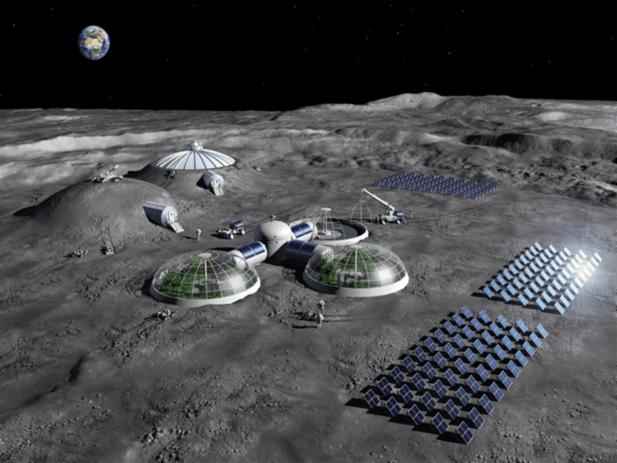 Descubren cómo extraer agua y oxígeno de la Luna