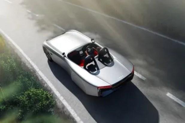 Aura, un deportivo totalmente eléctrico y sostenible