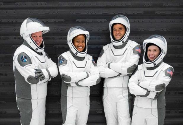 tripulación de la Inspiration4