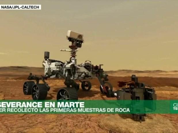 Perseverance: esto es lo que revelan las primeras muestras de suelo marciano  - Ciencia y Tecnología